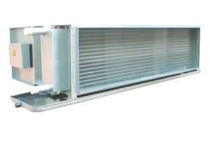 large air flow and high static pressure FCU
